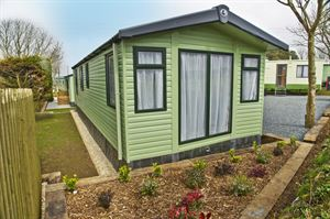 Luxury static caravans are available all year