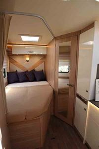 The rear bed in the Lyseo M Harmony 660  © Warners Group Publications, 2019