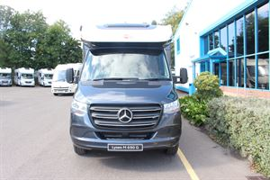 The Lyseo M, front on - picture courtesy of Chelston Motorhomes