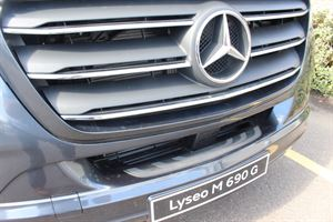 Close up of the Lyseo M grille - picture courtesy of Chelston Motorhomes