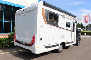 The Lyseo M, seen from the rear - picture courtesy of Chelston Motorhomes