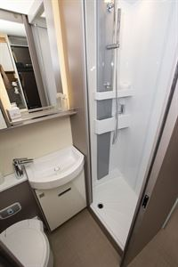 The washroom in the Bürstner Lyseo TD Harmony Line 744