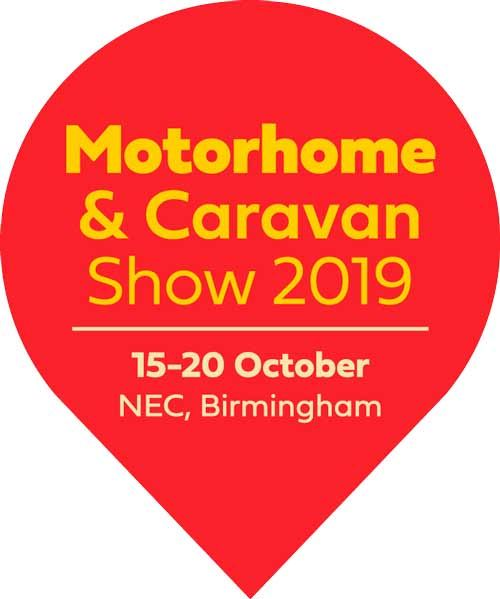 The Motorhome & Caravan Show 2019 runs from 15-20 October