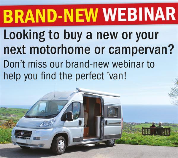 Live motorhome webinars start on April 18