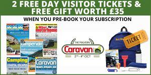 Pre-book your subscription for The Malvern Caravan Show