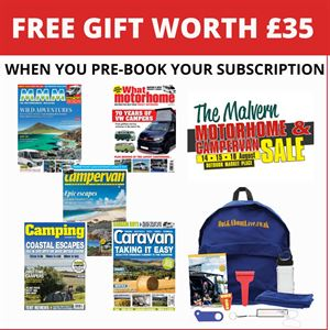 Pre-book your Malvern show subscription offer for a FREE gift and three issues for £5!