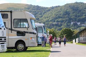 Motorhomes, campervans and caravans will be on display at Malvern Caravan Show © Warners Group Publications, 2019