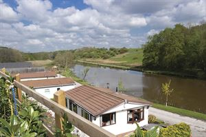 Many of the homes at Olympic Riverside Park in Cheshire have river views