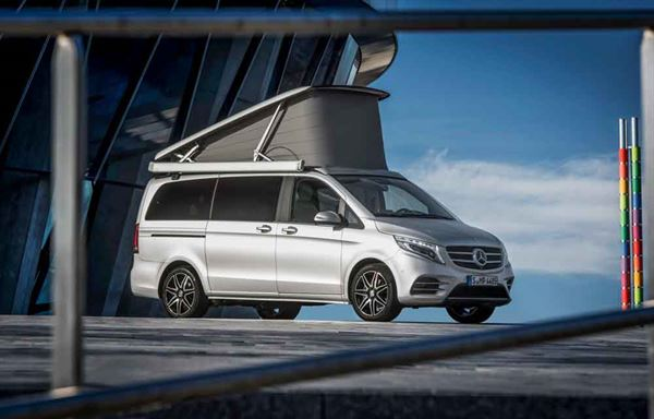 The New Marco Polo Campervan Has An Electric Rising Roof As Standard