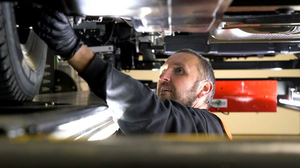 Erwin Hymer Centre Travelworld becomes an official MOT Testing Centre