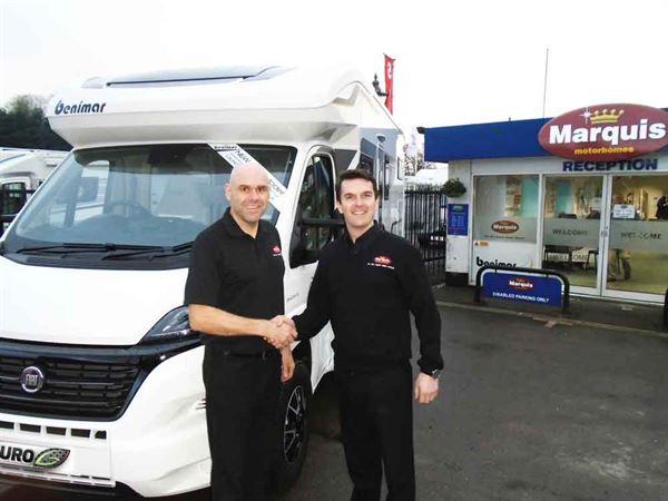The new Marquis Hampshire management team: Daren Spratt (left) and Richard Morse (right)