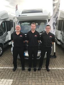Stephen Howard, General Manager Marquis Suffolk (left) Gavin Driver, Assistant Sales Director (centre) & Steve Tomlinson, Sales Manager Marquis Suffolk (right)