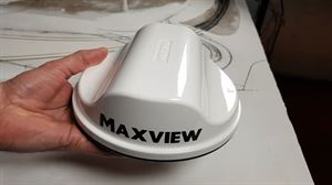 A Maxview external antenna