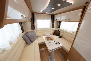 The rear lounge in the McLouis Fusion 330