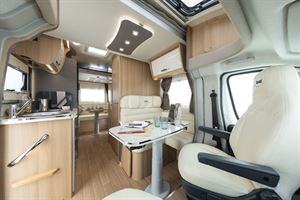 A view of the interior of the McLouis Fusion 330