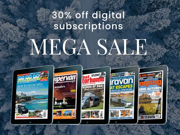 Save 30% on a digital magazine subscription in our Mega Sale