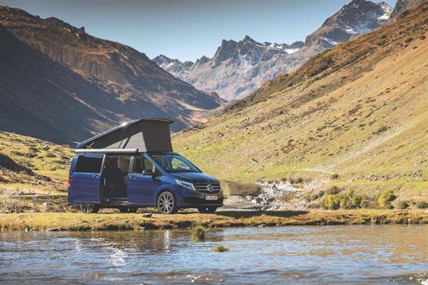 The Mercedes Marco Polo campervan