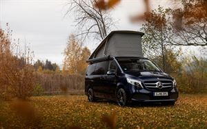 Mercedes Benz Marco Polo is now a smart campervan