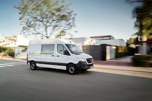 New Mercedes Sprinter comes in front-wheel drive