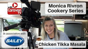 Monica Rivron cooks chicken tikka masala