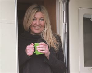 Monica Rivron's caravan cooking