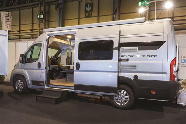 Van Conversion £55,000 to £65,000: Leisure Treka EB from Moto Trek