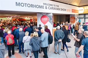 The Motorhome and Caravan Show will return to the NEC, Birmingham, from October 15-20, 2019