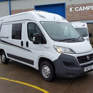 It's a two-berth contemporary motorhome - picture courtesy of Camperco