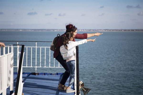 Ferry companies have revealed their comprehensive safety measures in advance of travel restrictions being lifted (pic courtesy Discover Ferries)