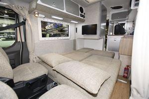 Inside the Murvi Pimento SB campervan