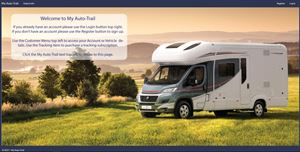There's to be a new online portal for 2018 Auto-Trail motorhome owners