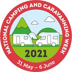 The National Camping and Caravanning Week logo