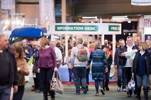 Record attendance and huge sales at the NEC motorhome show in February