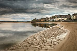 Arnside looks out over the Kent Estuary