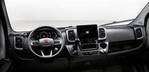 The dashboard in the Fiat Ducato