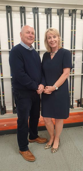 Duvalay founders celebrate move to new factory