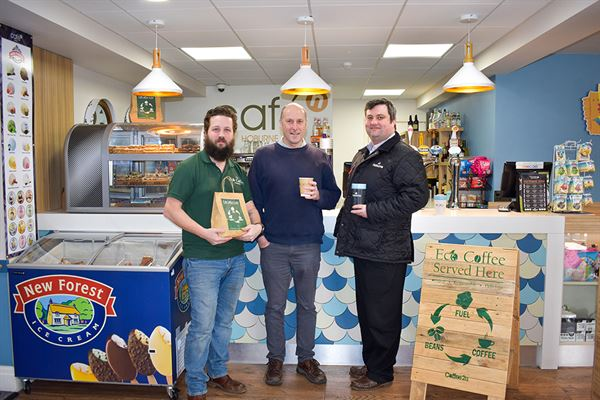 New eco-coffee partnership for Hoburne's holiday parks