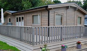 Merley House Holiday Park, near Wimborne, has teamed up with log building manufacturer Norwegian Log