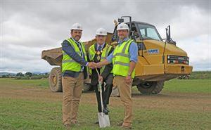 Mayor breaks ground at new Shrewbury campsite