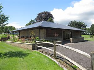 Appuldurcombe's new toilet block