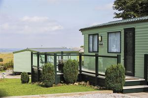 Lodges and park homes at Newhaven Holiday Park