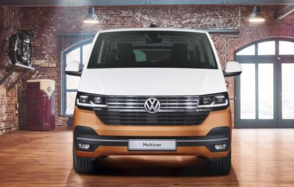 The new-look front of the VW T6.1