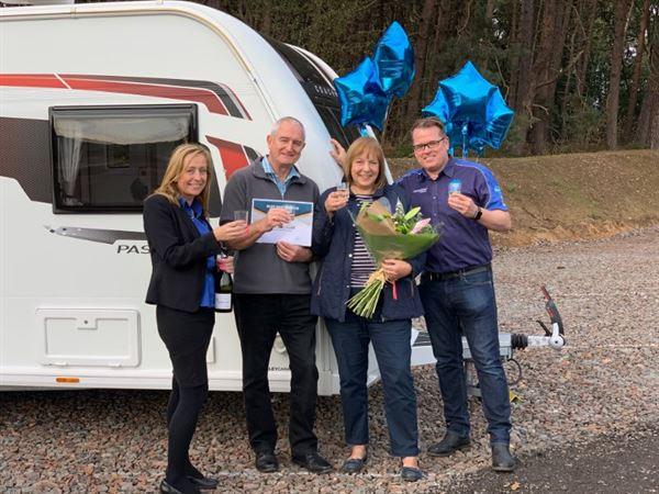 Nicola Hurst YC, Mr & Mrs Wild, Jon Goulden YC
