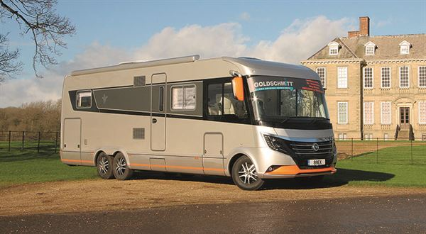 The Niesmann is sure to draw attention on the road