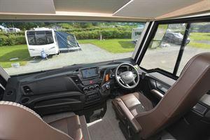 Behind the wheel in the Niesmann + Bischoff Flair 830 LE motorhome