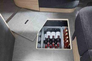 Plenty of storage here! - picture courtesy of Niesmann