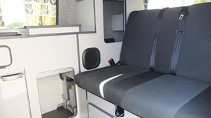 Seating in the Small Campervan Nissan e-NV200