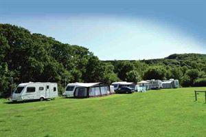 Caravans at Norden Farm