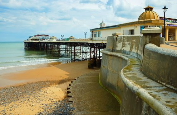 Norfolk Motorhome Tour: the pier at Cromer