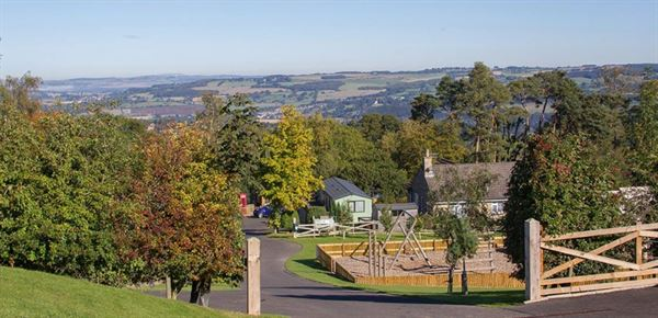 Causey Hill Holiday Park in Hexham was presented with his prestigious Conservation Award at its top gold level